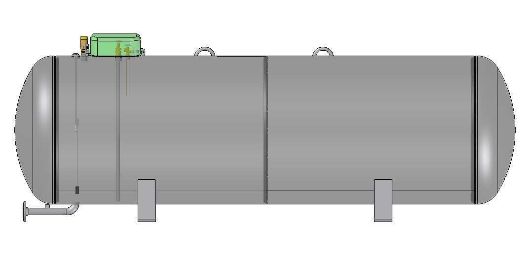 Nadzemný zásobník pre odber kvapalnej fázy