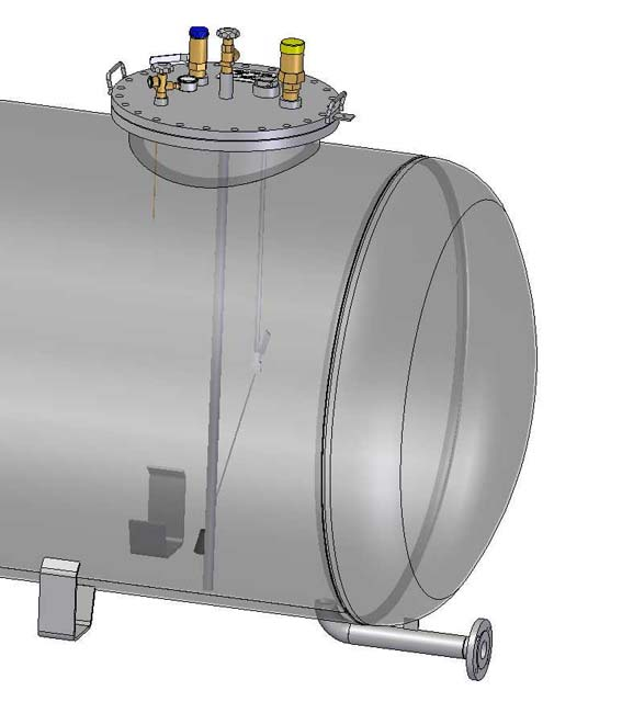 Nadzemne zásobníky pre odber kvapalnej fázy 1600mm