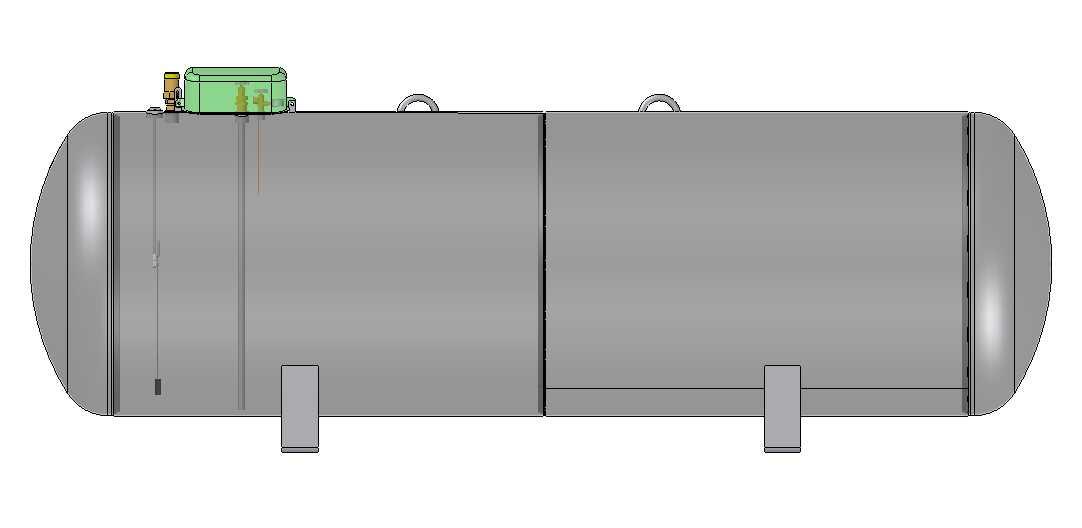 Nadzemný zásobník pre odber plynnej fázy