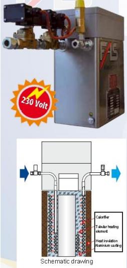 Výparník LPG elektrický suchý